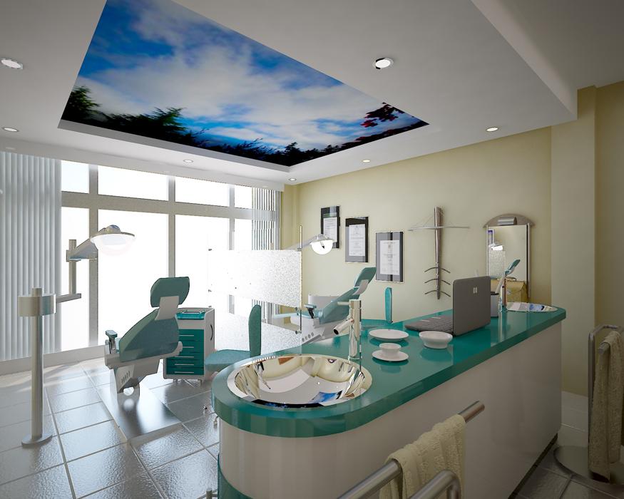 Dise o de consultorios - Clinicas dentales diseno ...